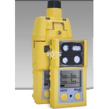 泵吸式M40 Pro便携式四合一气体检测仪(O2,CO,H2S,LEL)