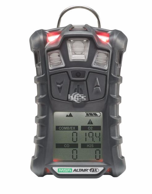 天鹰Altair 4X四合一气体检测仪(LEL/O2/CO/H2S)不带跌倒报警