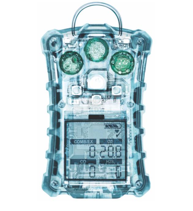 天鹰Altair 4X四合一气体检测仪(LEL/O2/SO2/H2S)带跌倒报警