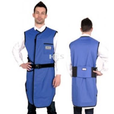 X射线无袖双面连体防护铅衣标准粘扣型C201