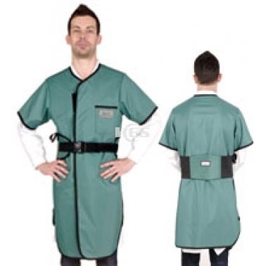 X射线半袖双面连体防护铅衣标准粘扣型C211