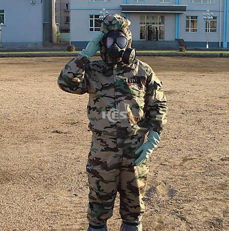 HES-NBC军用级迷彩核生化防护服