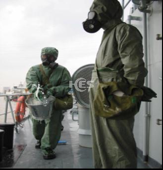 HES-NBC军用级隔绝式核生化防护服