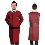 X射线长袖双面连体防护铅衣标准粘扣型C221