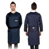 X射线长袖双面连体防护铅衣重叠卡扣型C222