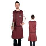 X射线无袖双面分体套裙标准粘扣型C301