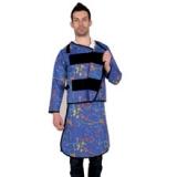 X射线长袖双面分体套裙重叠卡扣型C322