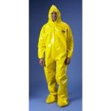 ChemMAX4系列凯麦斯4 CT4-A150 连袜式带帽连体防化服