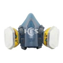 7502硅胶半面型防护面罩