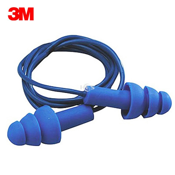 EAR 340-4007 Ultrafit Metal Detactable 含可探测金属圣诞树型带线耳塞