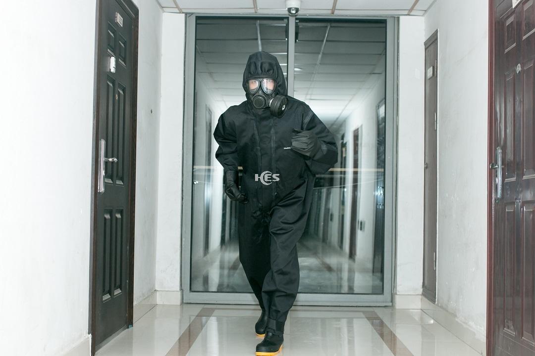 密闭式核辐射生化应急防护套装(Class I)-热区/红区(事故核心区域)