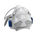 7771硅胶半面型单滤盒防尘面罩