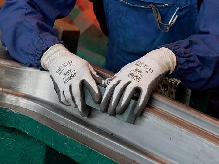 HyFlex Dyneema经济型防割涂层手套11-624