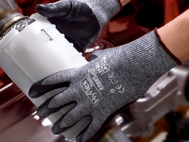 HyFlex Foam  通用型涂层手套11-801