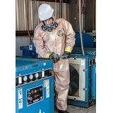 液体致密型化学防护服或粉尘致密型化学防护服--环境应急标准化能力建设