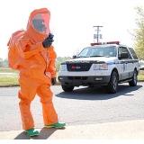 全封闭化学防护服--环境应急监测车配套