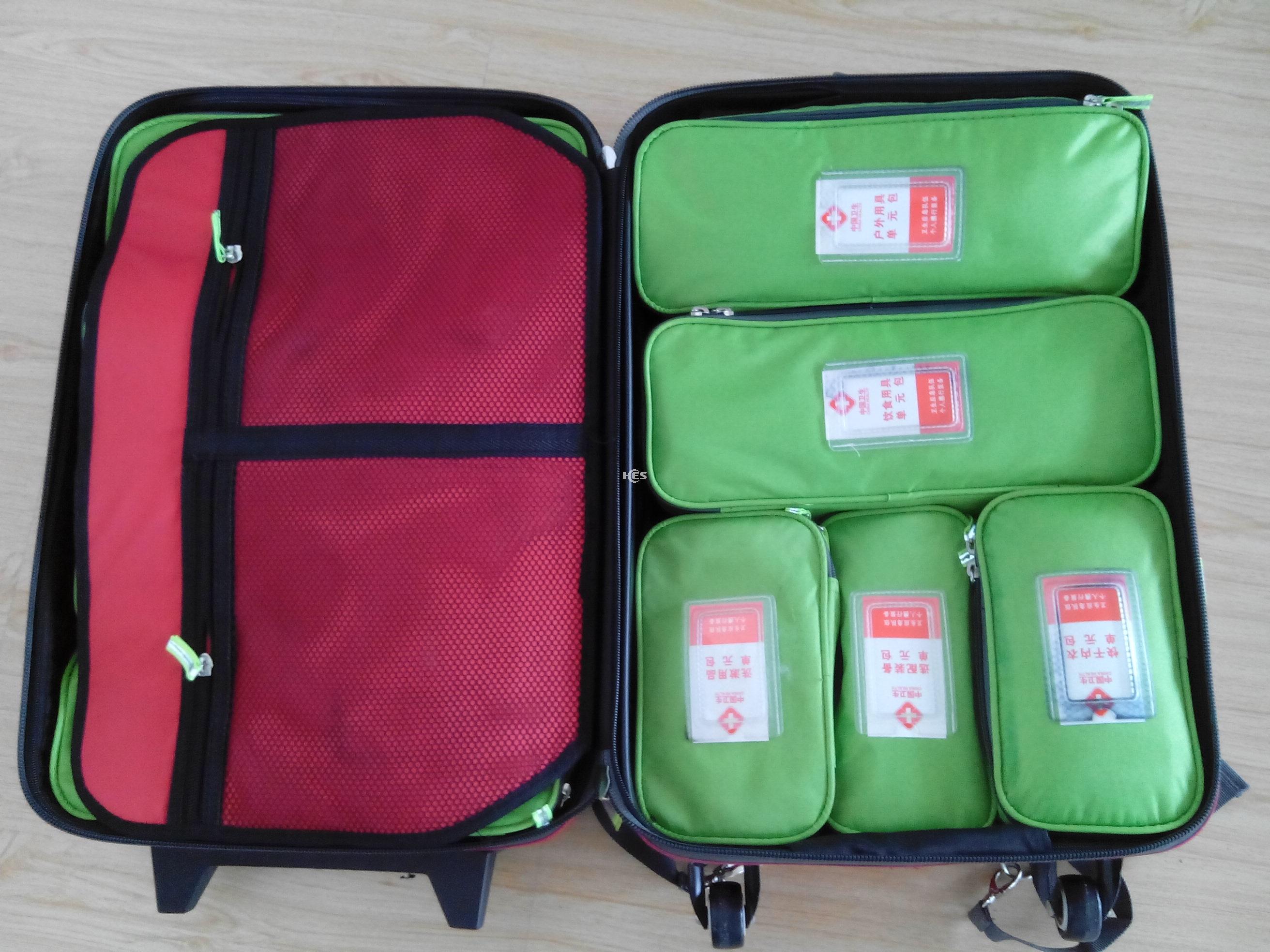 个人携行装备-卫生应急队伍装备