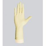 一次性12寸7.5g千级麻面乳胶手套【加长款】