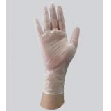 一次性9寸4.5g无粉光面PVC手套