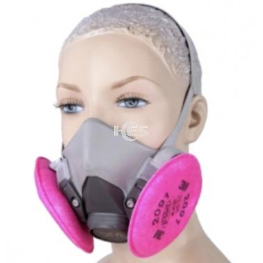 放射性颗粒物防护半面具 半面型呼吸防护器