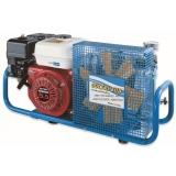 MCH6/SH STANDARD移动式呼吸空气填充泵 便携式充气泵 本田汽油机驱动